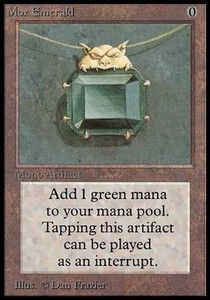 Magic ATP - Mox Emerald [Carte Magic L'Assemblée]