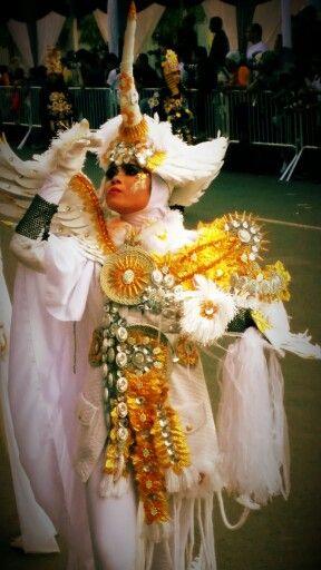 Jember Fashion Carnival 2015...pegasus costume
