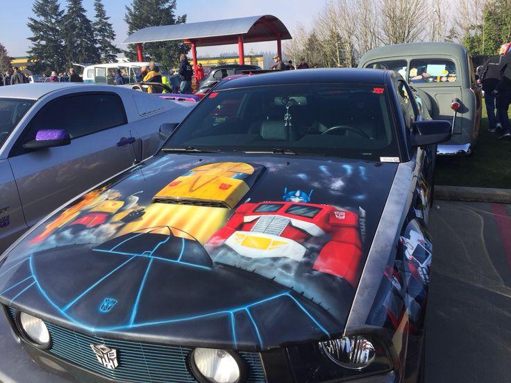 Autobot paint job