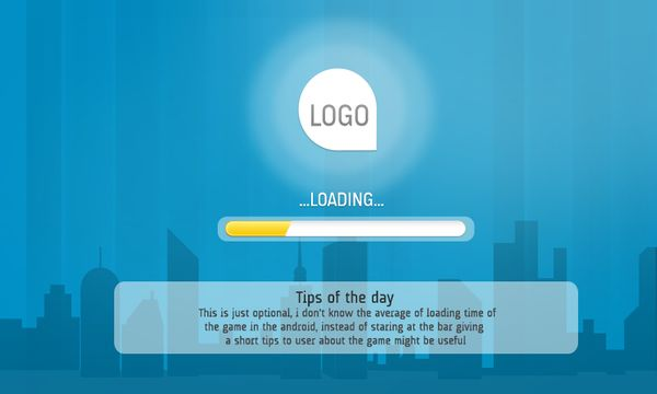 Aquisition Android Game MockUp by Seeta Kaur, via Behance