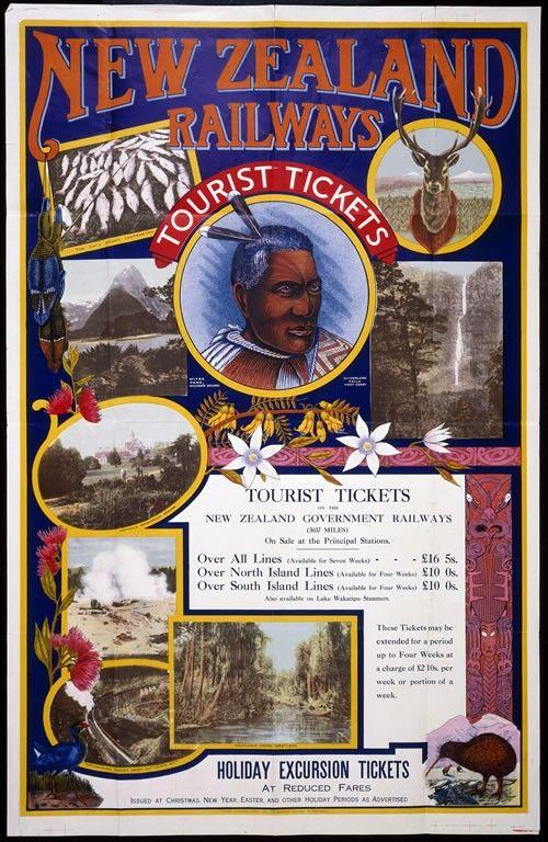 Railways poster, 1923 | NZHistory, New Zealand history online