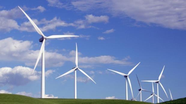 Giga-windmolen lijkt op een palmboom   Bright