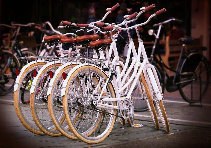 Rowery miejskie.