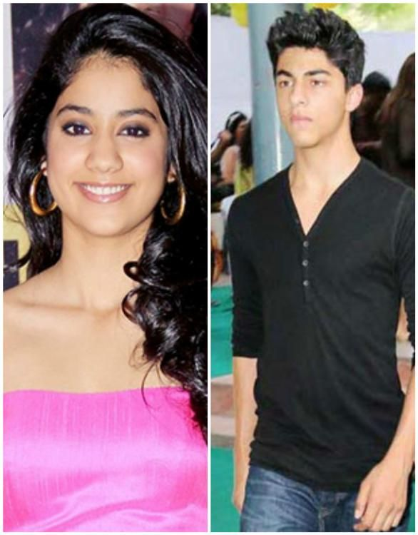 Rumor has it that Shah Rukh Khan's eldest son Aryan Khan and Sridevi and Boney Kapoor's daughter Jhanvi Kapoor are both headed to the same school in ...