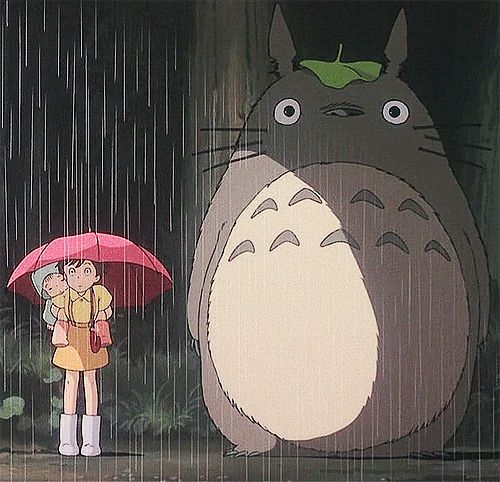 i love this scene :: shout to the leaf raincap homies. :: #myneighbortotoro