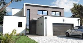 Maison moderne Nantes Schuman 44