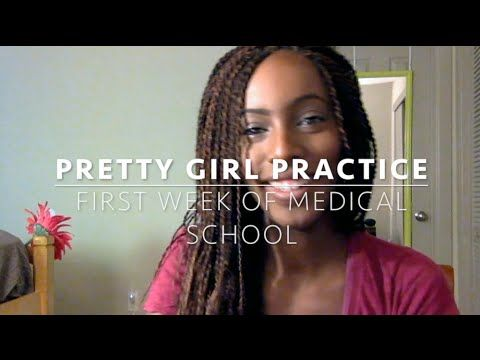 Med School Vlog: I Survived My First Week of Medical School - YouTube Pretty…