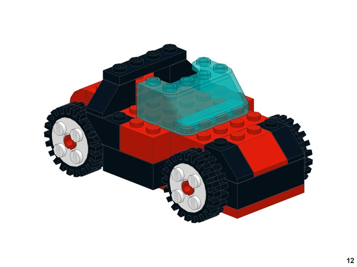 Printable PDF building examples/instructions for Legos and Duplos!