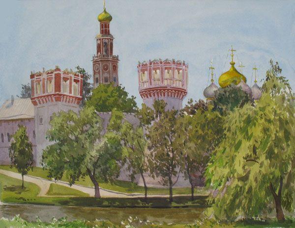 Виктория Кирьянова.Солнечный день. Новодевичий монастырь