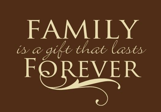 Family Is A Gift That Lasts Forever Family Sign By