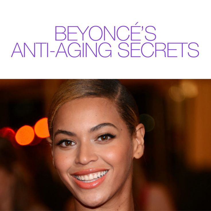 Ever wondered how Beyoncé stays looking so young? Read her anti-aging secrets here! #ForeverYoungFriday #StayAmazing http://www.marieclaire.com/beauty/news/a14192/beyonce-anti-aging-secrets/