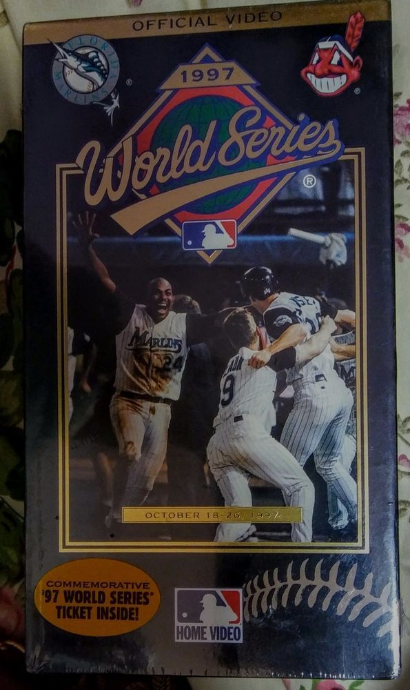 The Official 1997 World Series Video (VHS, 1997) Brand New  '97 World Series Ticket Inside. $9.99 EBAY