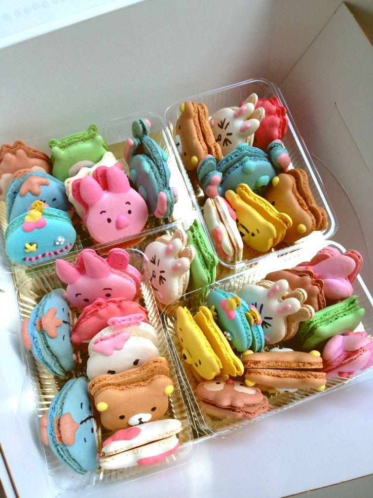Cute Kawaii Macarons Disney tsum tsum