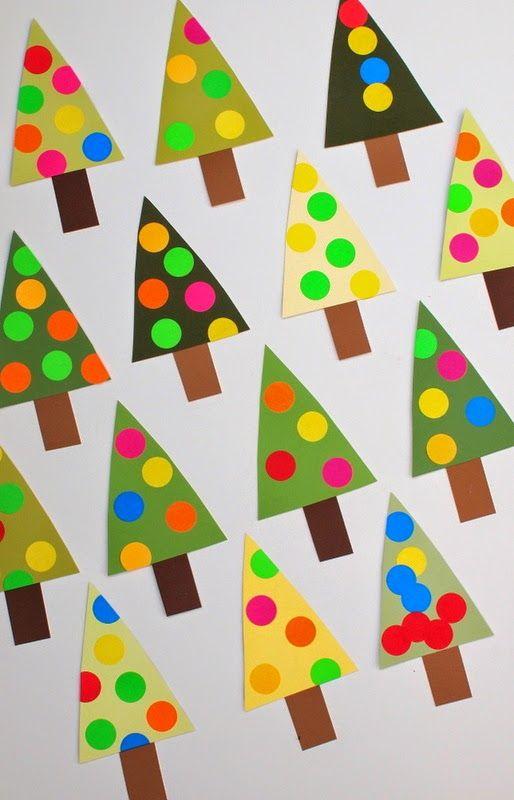 Árbol de Navidad Fácil Calendario de Adviento