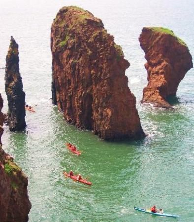#31 - Kayak around The Three Sisters - Cape Chignecto Provincial Park, Nova Scotia, Canada