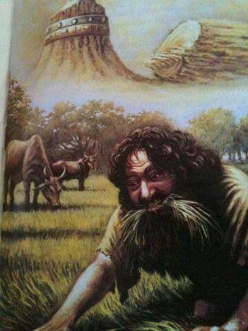 Op hetzelfde ogenblik werd het woord zelf aan Nebukadnezar vervuld, en van onder de mensheid werd hij verdreven, en plantengroei ging hij eten net als de stieren, en door de dauw van de hemel werd zijn eigen lichaam bevochtigd, totdat zelfs zijn haar lang werd net als de veren van arenden en zijn nagels als de klauwen van vogels.Daniël4:43.HD. Harry Dewth.