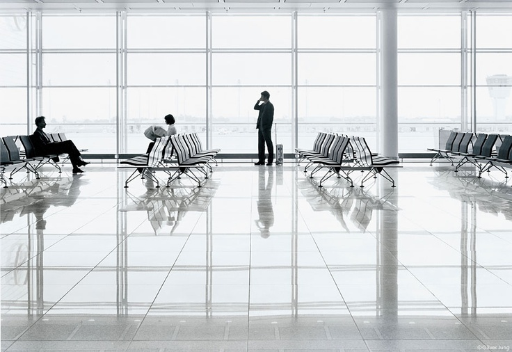 AIRLINE   The Vitra Airport seating system by Lord Norman Foster.