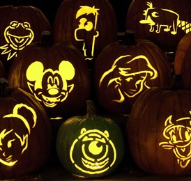 disney pumpkin carving templates - Carving Templates Halloween Pumpkin