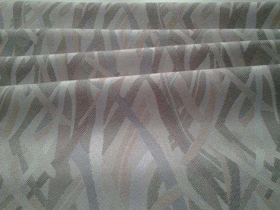 Tenda Jacquard tessuto grigio e rosa tessuto di HomeEros su Etsy