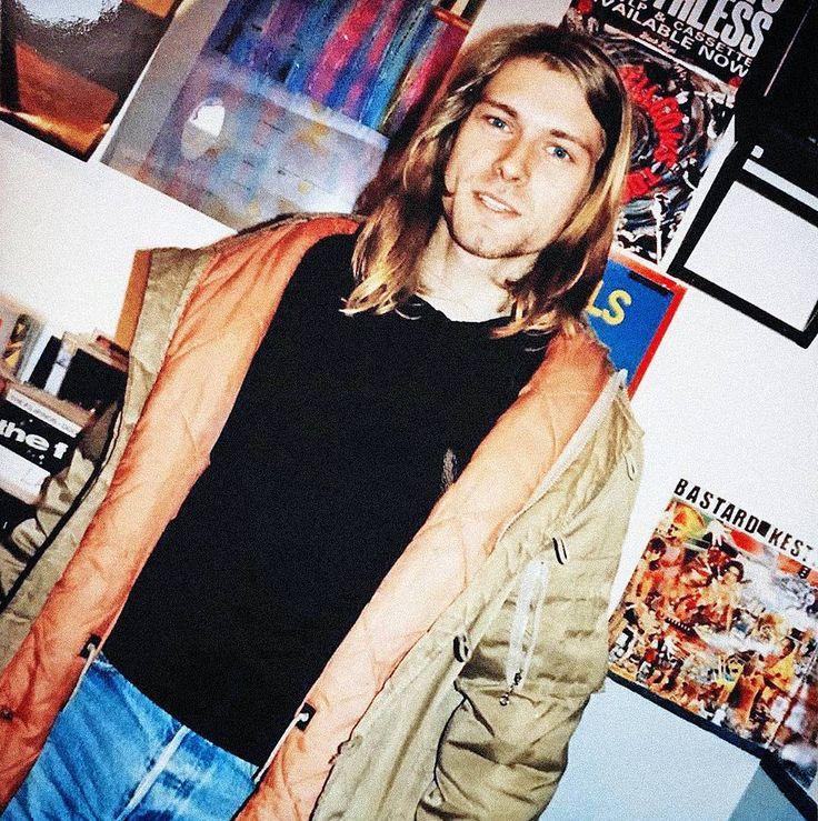 Kurt Cobain in London, UK. December 4th, 1989