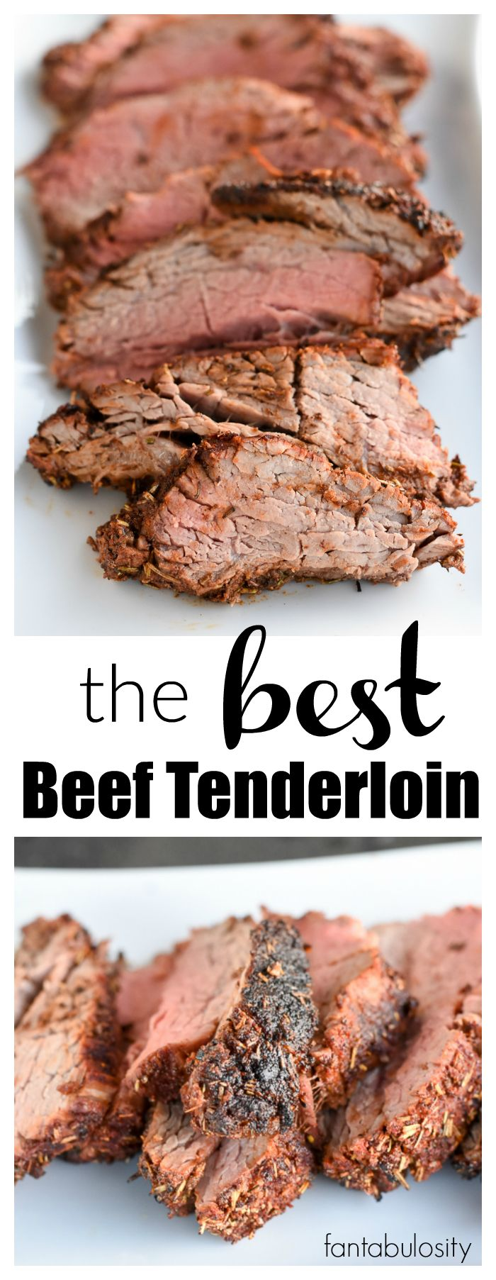 Holy Cow!!! This is the BEST Beef Tenderloin Recipe and meat rub recipe around! http://fantabulosity.com