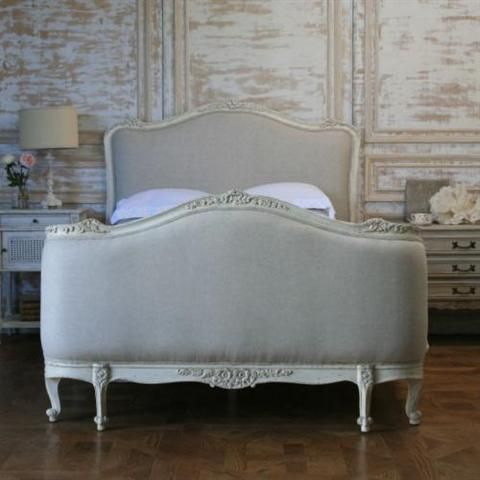 Eloquence Sophia Upholstered Bed in Louis XV Corbeille style