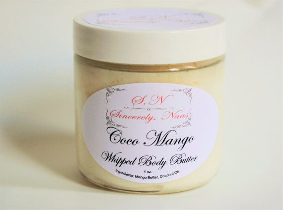 Coco Mango Body Butter by SincerelyNaas on Etsy