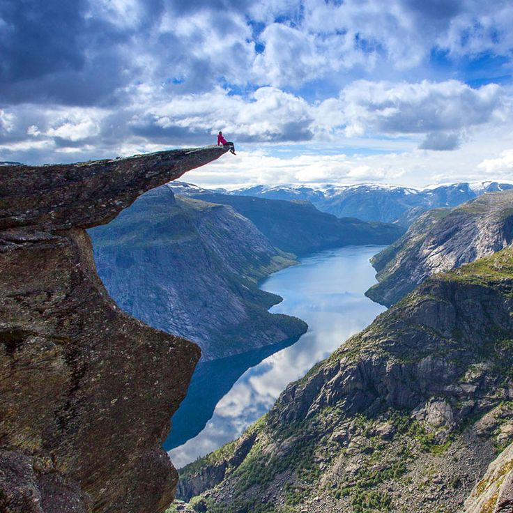 Norway - the best place in the World to take a Selfie. Photo by Scott Sporleder/Matador Network/FjordNorway.com