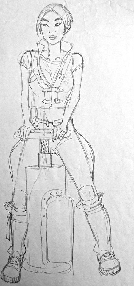 Film: Titan AE =====  Character: Akima (Design #6)
