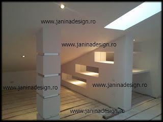 Amenajari #mansarde, #poduri, #rigips, #gips #carton.Seriozitate si preturi accesibile. Pentru mai multe detalii vizitati adresa http://www.janinadesign.ro http://janinadesign.blogspot.com
