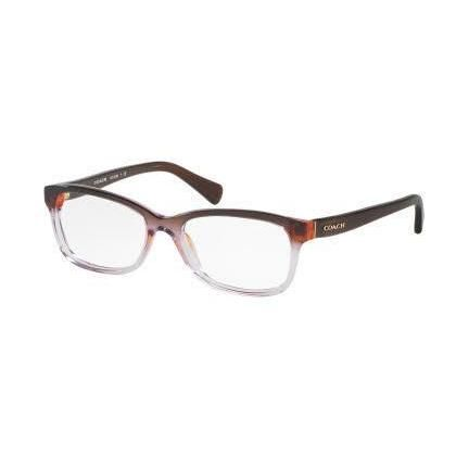 Coach Womens HC6089 5401 Violet Rectangle Eyeglasses