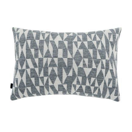 Style B1 Cushion, light grey/white, Karen Mimi Boelsbjerg, Fuss