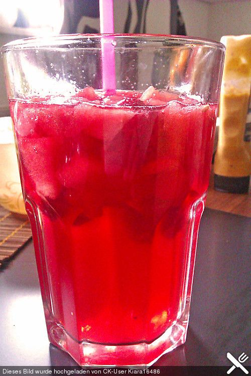 Himbeer - Melonen - Bowle, alkoholfrei (Rezept mit Bild) | Chefkoch.de
