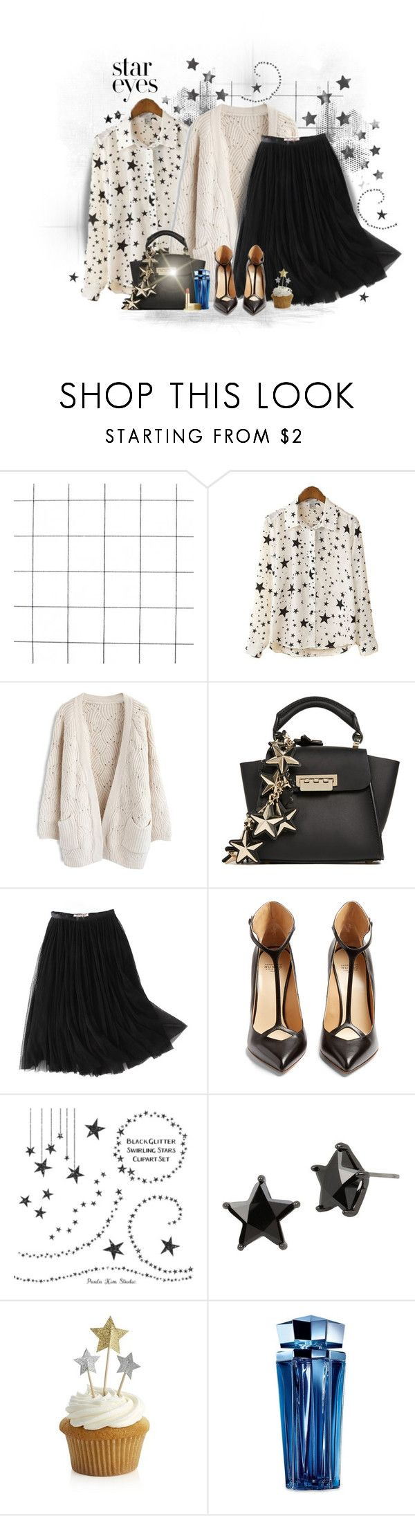 """""""428"""" by treysi-whitney ❤ liked on Polyvore featuring Chicwish, ZAC Zac Posen, WithChic, Francesco Russo, Betsey Johnson, Crate and Barrel, Thierry Mugler, Lipstick Queen and StarOutfits"""