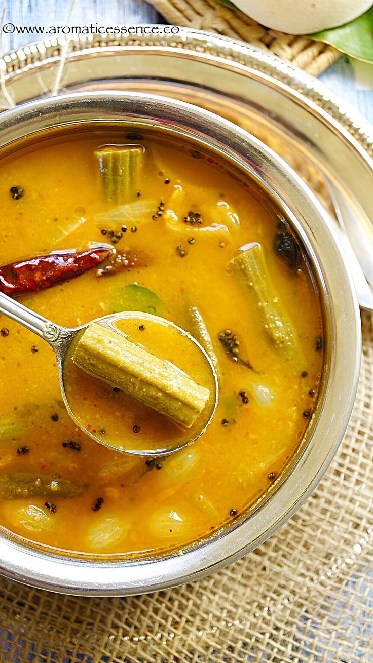 Sambar or Sambhar  is an integral part of the South Indian cuisine. It is a lentil based stew with the addition of various vegetables or sometimes just one vegetable is added. It is a perfect accompaniment to idli's (