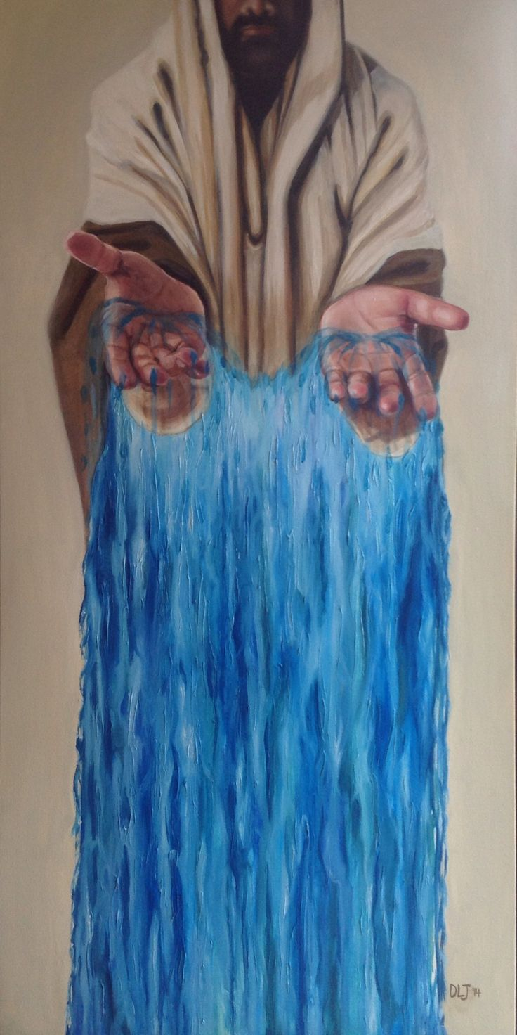 Living Waters II - Prophetic Painting by Dana Jensen