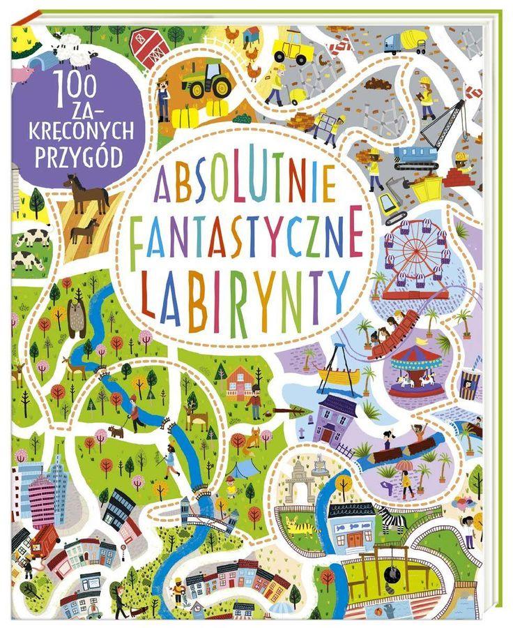 Książka Absolutnie Fantastyczne Labirynty - zdjęcie 1
