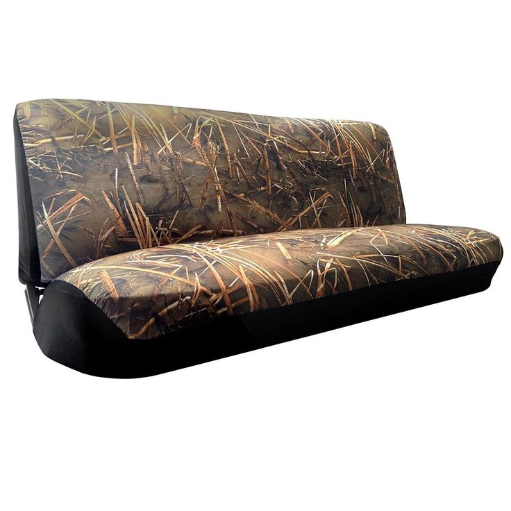 Unique Muddy Water Camo (Green) Bench SeatCover Mid-Full Size Duck Hunting Camouflage (Color)