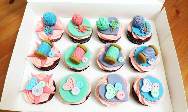 Knitting Cake Toppers : Best images about amazing cupcakes on pinterest