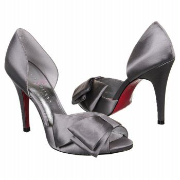 Grey Heels For Wedding