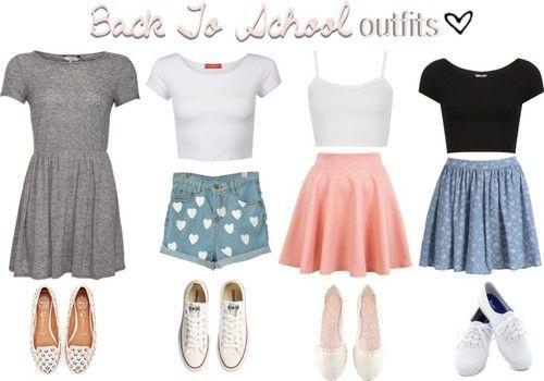 school outfits ideas for high school tumblr 2015 2016 4837 | Cute ...