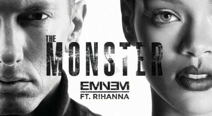 Lirik Lagu The Monster - Eminem feat Rihanna | Aneka Lirik Lagu