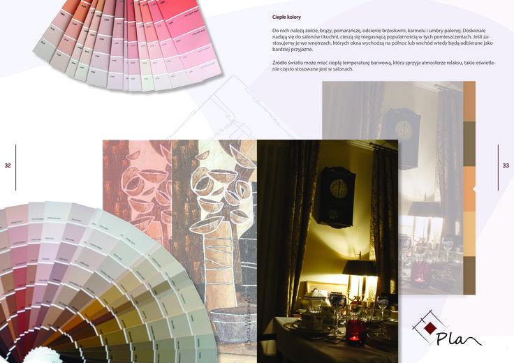 Projektowanie wnętrz, e-book o kolorach we wnętrzu.