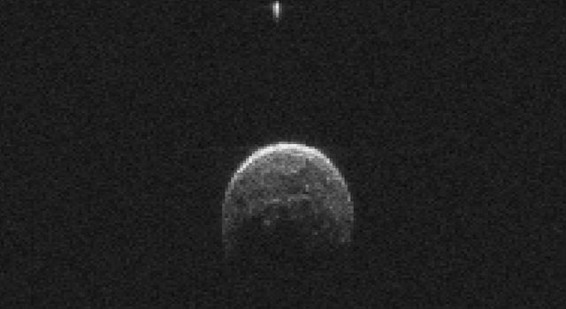 LOOK! The Asteroid That Flew Past Earth Tuesday Has Its Own Moon |via`tko the two-way: Breaking News from NPR