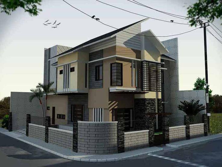 Rumah Sudut 2 lantai