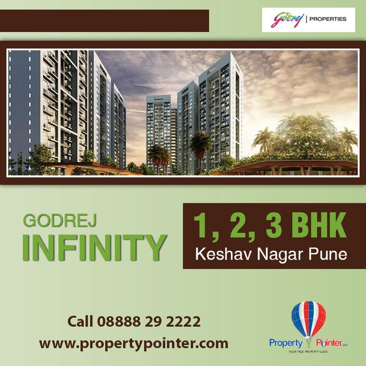 Godrej Infinity Pune is a new residential venture consist of total 16 residential attractive building having 1, 2, 3 BHK Luxurious flats with all ample facilities and service. Take this exciting opportunity to own a complete home only at Godrej Infinity Pune Visit at http://goo.gl/UEWJKN