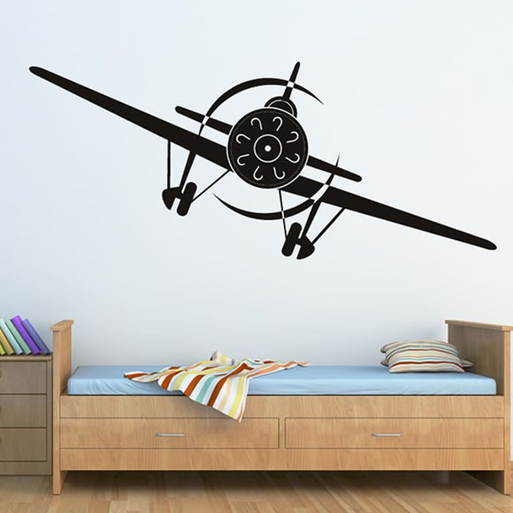 Cheap wall art stickers, Buy Quality airplane wall decal directly from China wall decals Suppliers: New Hot Sale Transportation Home Decor Airplane Wall Decal Kids Room Cartoon Wall Art Sticker High Quality  HT3583