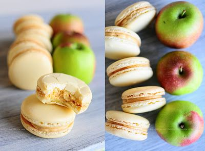 Pierre Hermé mouthwatering Frivolté Salted Caramel Apple Macarons!