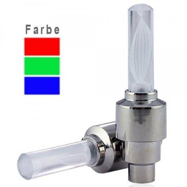 MAILUX Fireflys Valve Light Wheellight LED Ventilkappe RGB Stylishes Produkt mit RGB Licht Faden und Blinken Passt auf übliche Autoventile - inkl. Adapter für alle anderen Ventile Schaltet automatisch bei Bewegung an unterschiedliche Lichtwechselmodi einstellbar ACHTUNG: Nicht für StVO zugelassen! Geeignet für Auto, Fahrrad, Motorrad etc.  http://www.leddiscount.de/led-fun/sportzubehoer/174/mailux-fireflys-valve-light-wheellight-led-ventilkappe-rgb?c=29