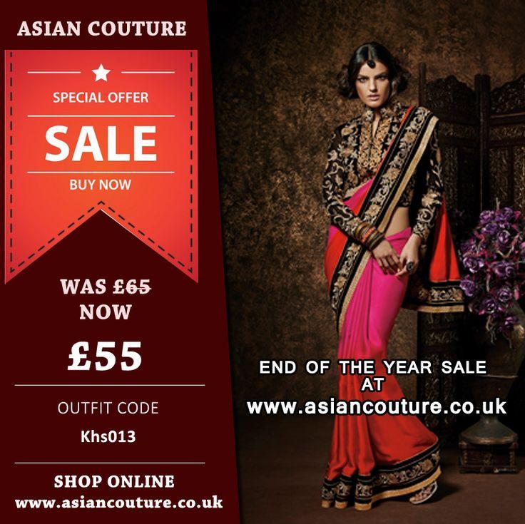 ********** SPECIAL OFFER ********** ELEGANT KHWAAB SAREE ON SALE !!   Buy some of our favorite festive wear at reduced prices !  https://www.asiancouture.co.uk/sale-discounts-on-asian-indian-clothing-uk  #ASIANCOUTURE #weddingdress #DesiFashion #AllThingsBridal #Anarkali #Dress #PakistaniStreetStyle #DinaTokio #HudaBeauty #AsianBride #Zukreat #London #Priyankachopra #POTD #Rumena_101 #Desicouture #asianattire #eidclothing #partyasianwear #charizmahit #eidclothes #salwarkameez #weddingwear
